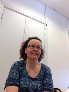 Susanne Berggren är optiker på Syncentralen