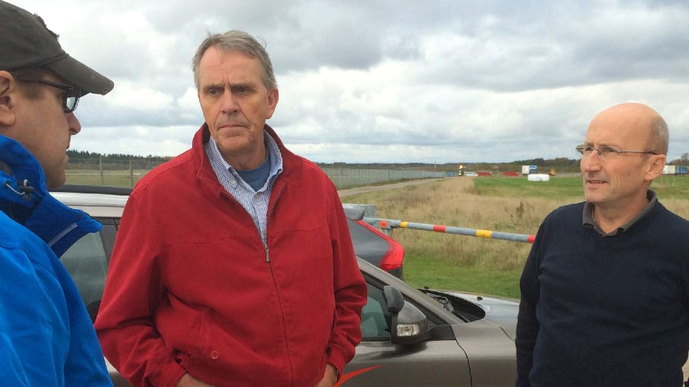 Besök av professor Bertil Lindblom