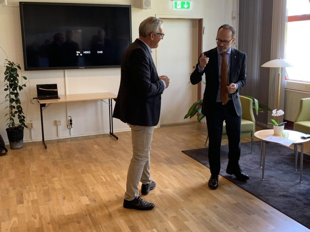 Tomas Enroth och Johan Ekblad