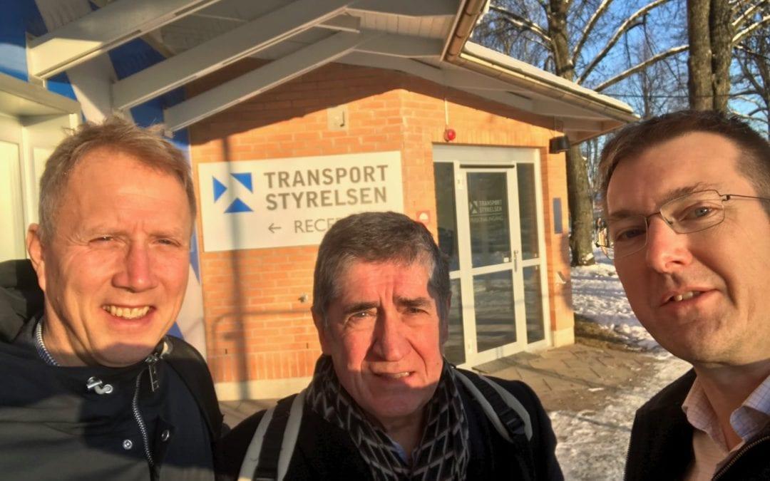 CTD-projektet på möte med Transportstyrelsen i Borlänge