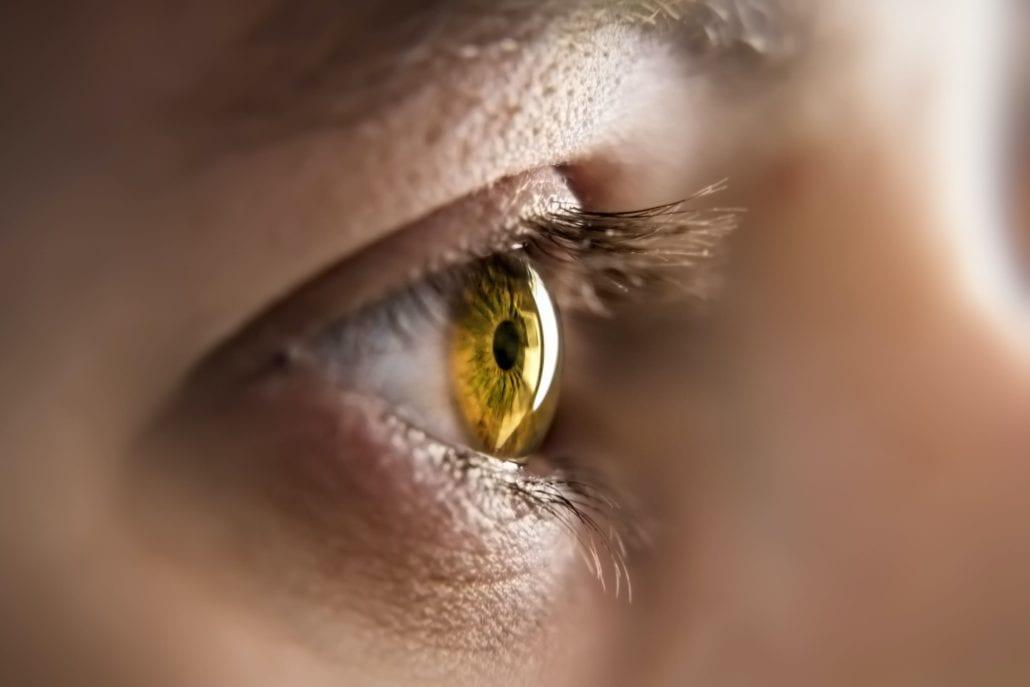 Öga eller iris