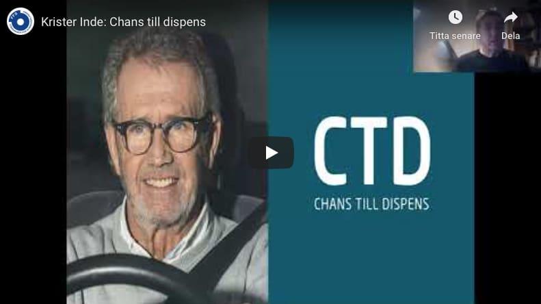 Föreläsning om CTD-projektet av Krister Inde